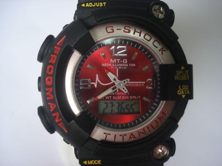 8bd89e443925 reloj casio g shock frogman titanium dw 8200