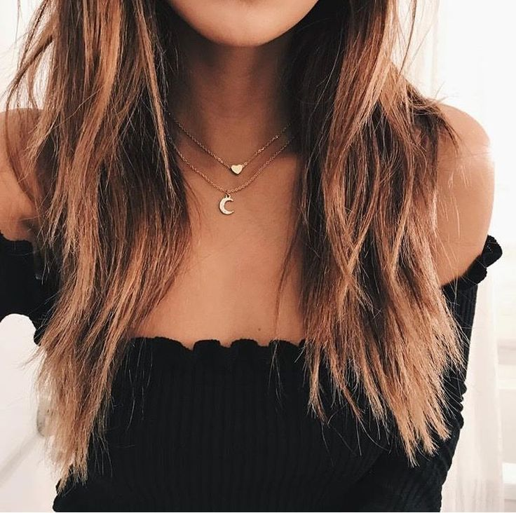 off the shoulder ruffle top black with minimal gold chain choker