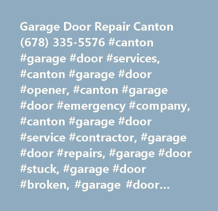Best 25 garage door repair ideas on pinterest garage for Garage door repair canton ga