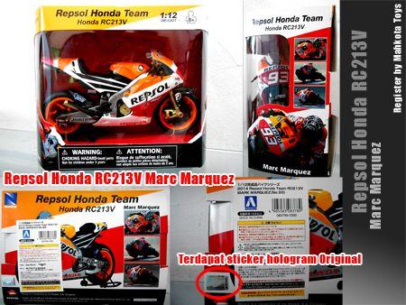 Miniatur diecast Motogp Repsol Honda Marc Marquez (original)