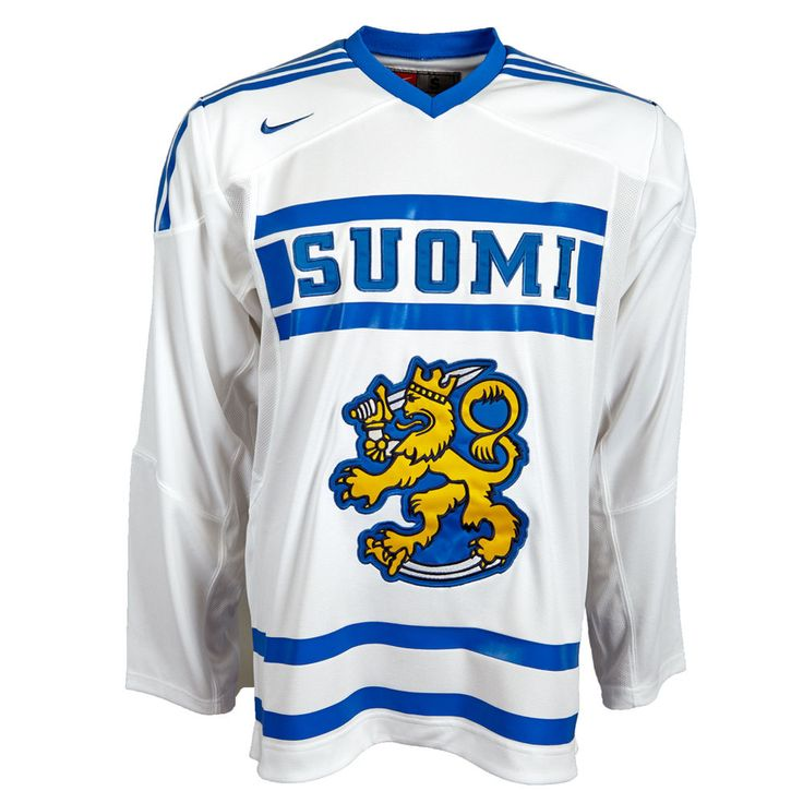 Finnland Eishockey Trikot Nike Authentic Jersey S M L 523207-100 IIHF Soumi neu
