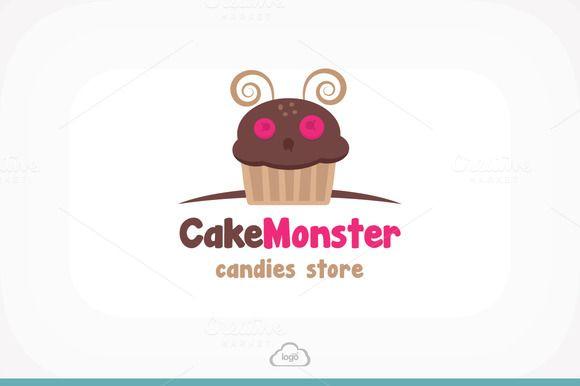 Check out Cake Monster Logo Template by Logo Heaven on Creative Market -> http://crtv.mk/aleH
