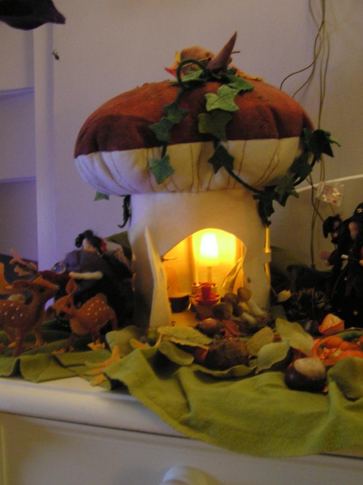 Gezellige herfst seizoenstafel