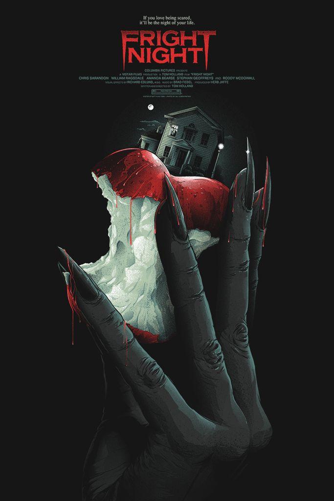 Fright Night - movie poster - Matt Ryan Tobin