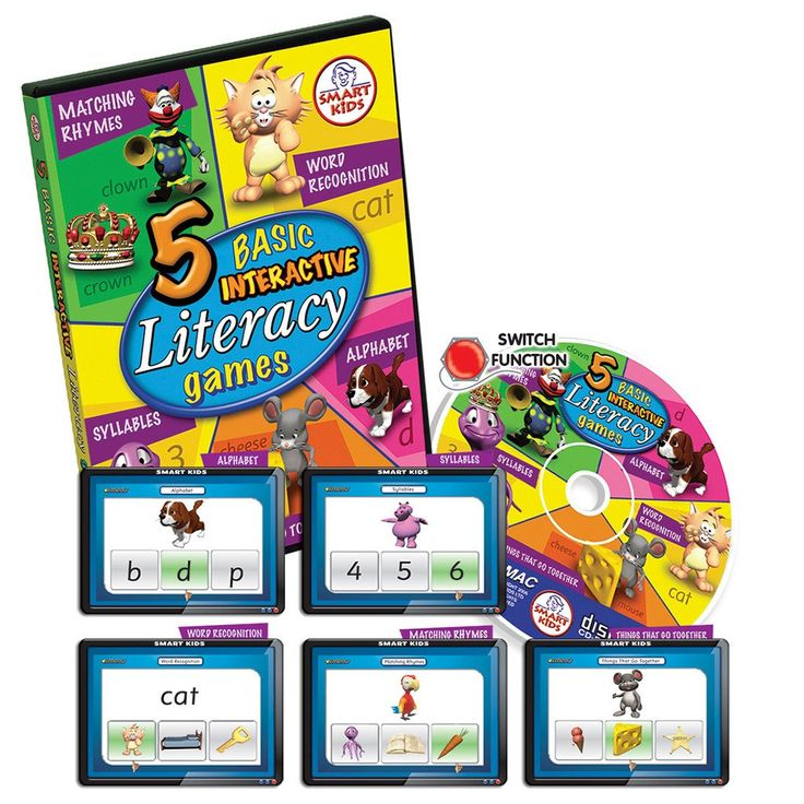5 Basic Literacy Games