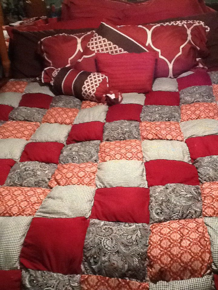 Puff King Size Quilt Quilts Pinterest Quilt King