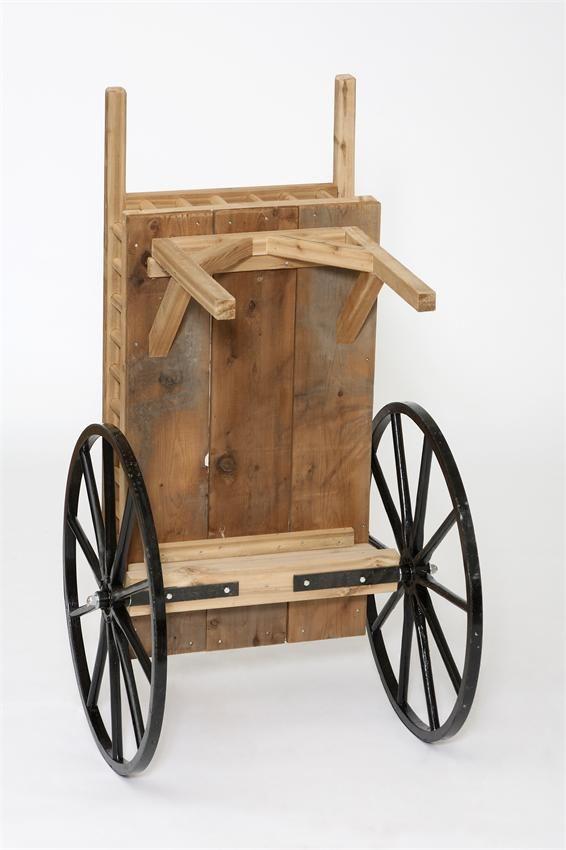 Peddlers Cart Decorative Amish Craft 7950