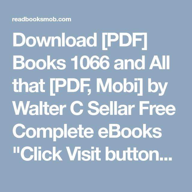 49 best my books images on pinterest download pdf books 1066 and all that pdf mobi by walter fandeluxe Image collections