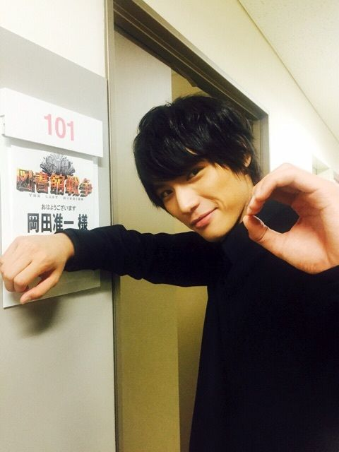 "Sota Fukushi, J Movie ""Library Wars -THE LAST MISSION-"". Release: 10/10/2015."