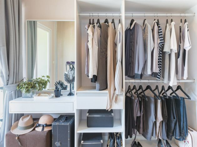 Great Ein begehbarer Kleiderschrank muss kein Luxus Traum bleiben Wir zeigen Ihnen wie Sie sich den Traum vom begehbaren Kleiderschrank erf llen u auch ohne