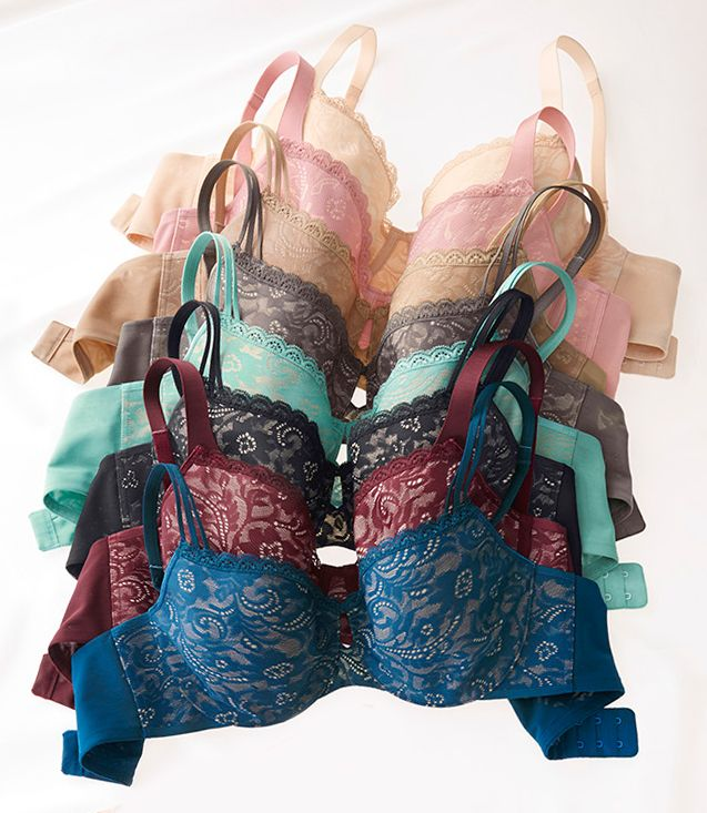 Our Enticing Lift Unlined Full Coverage Bra lifts like a push-up bra, but without padding. So it's unlined, uplifting and undetectable. Soma | Bras With Benefits