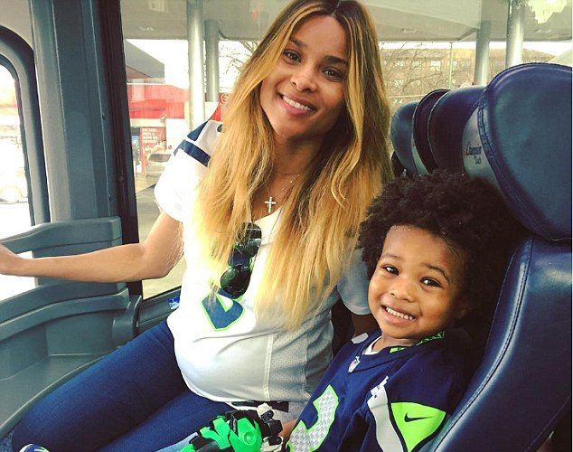 'I WILL FOREVER WIN. I GET TO COME HOME TO YOU': CIARA'S HUSBAND RUSSELL WILSON GUSHES OVER HIS PREGNANT WIFE