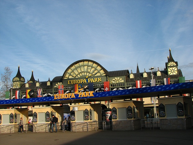 Europa Park, Frieburg, Germany. Largest Amusement Park in Germany