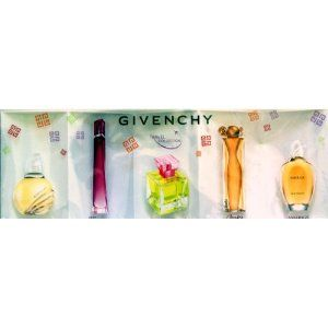miniature perfumes for sale | Givenchy » GIVENCHY TRAVEL COLLECTION 5 MINI Pack Perfume Gift Set ...