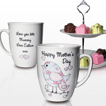 30 best personalised gifts for a new home images on pinterest personalised godmother floral bird latte mug in stock now with fast uk delivery gifts for godmothers from pgs negle Gallery