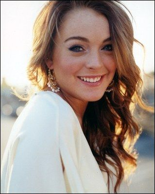 Lindsay Lohan ~ Love this pic of Lindsay looking Happy & Healthy!
