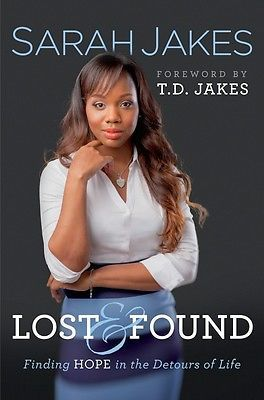 Lost and Found Finding Hope in The Detours of Life Book by Sarah Jakes-read ✅
