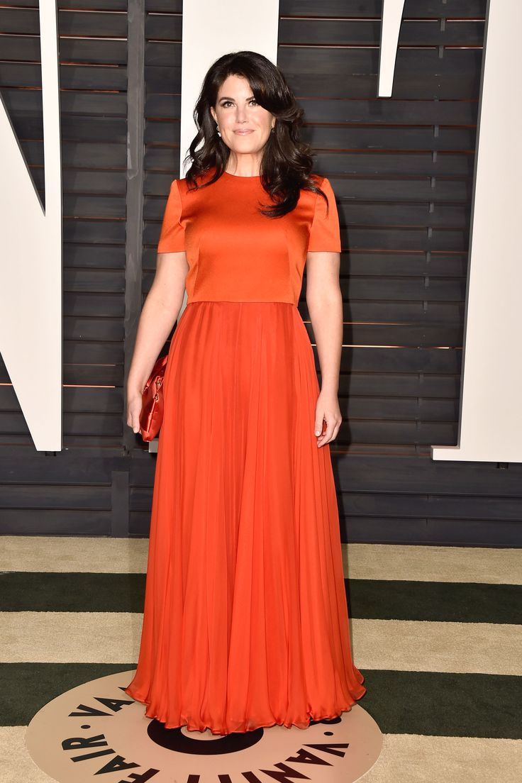 Monica Lewinsky attends the 2015 Vanity Fair Oscar Party hosted by Graydon Carter at Wallis Annenberg Center for the Performing Arts on Feb. 22, 2015, in Beverly Hills, California.   - Redbook.com
