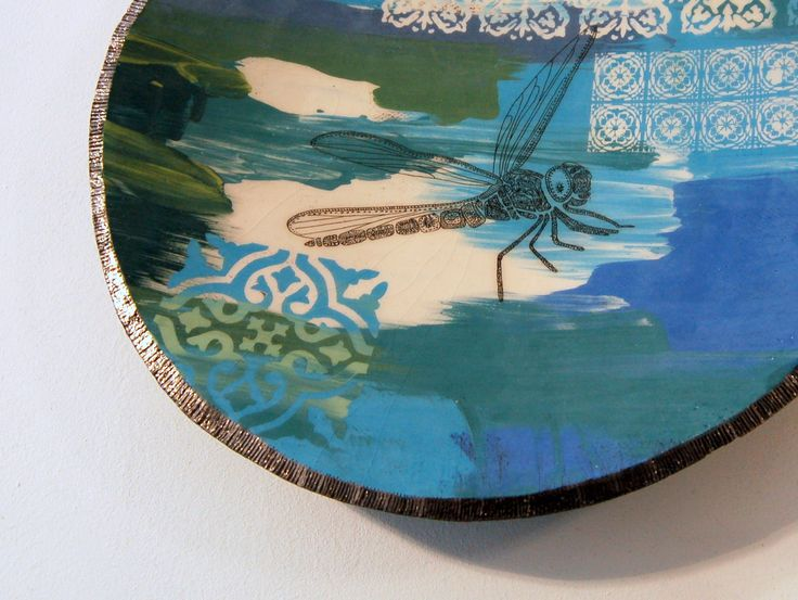 Victoria Bentham 'Large Dragonfly Dish' at Space CRAFT Gallery, Belfast