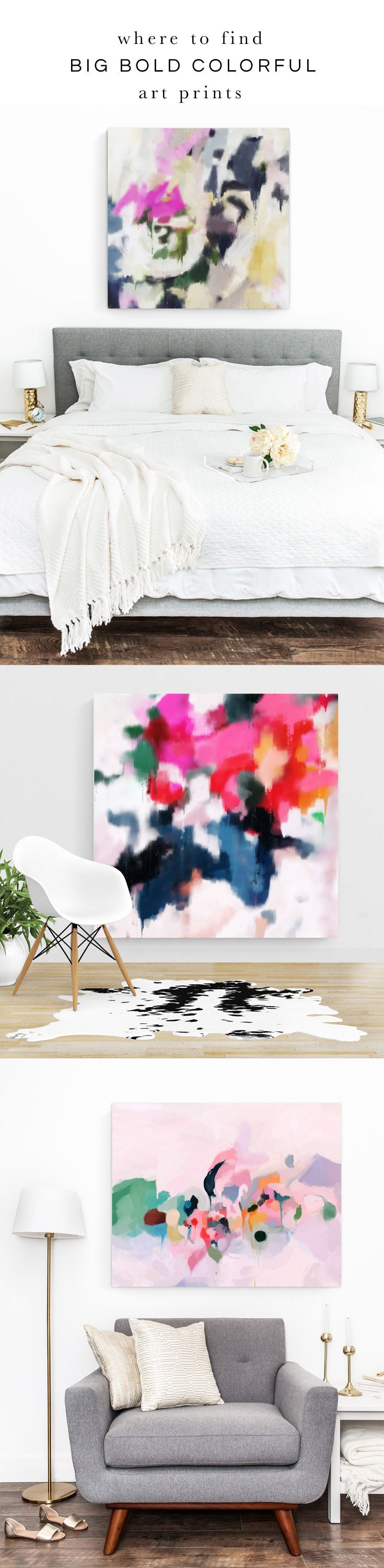 """Parima Studio offers abstract art prints that can be printed up to 40""""x60""""!"""