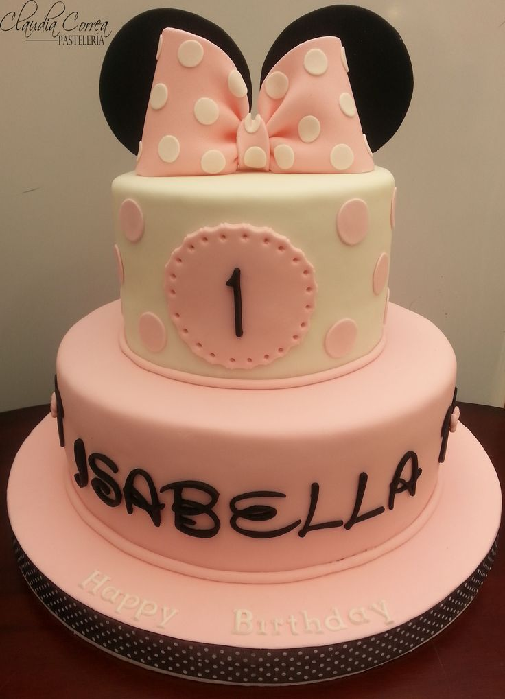 ¡¡¡ Minnie cake !!!