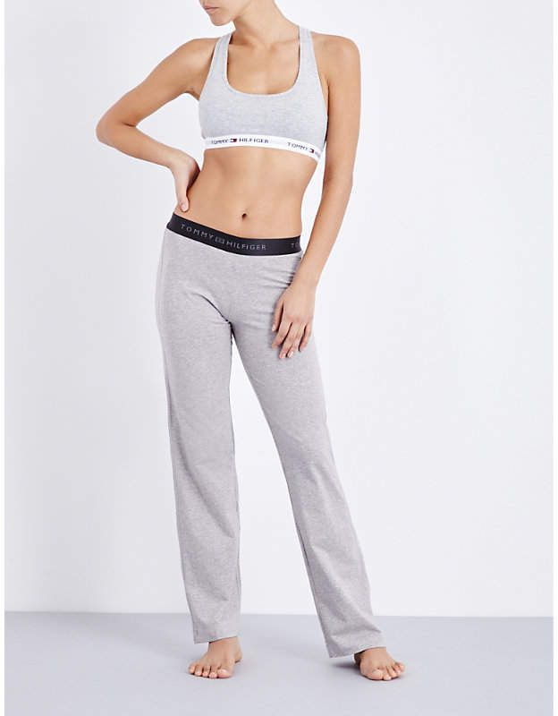 Tommy Hilfiger Iconic Stretch Cotton Pyjama Bottoms Iconic Hilfiger Tommy Cotton Pajama Bottoms Pyjama Bottoms Stretch Cotton