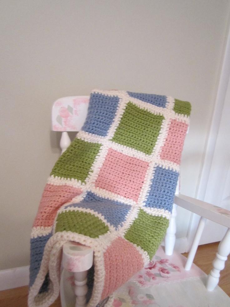 Hand Made Baby Blankets. $100.00, via Etsy.