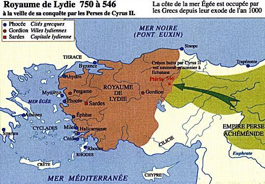 La Monnaie Fait Son Apparition En Lydie Lydian Empire