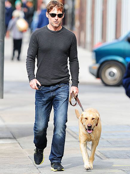 Photo of Seann William Scott & his  Dog Licky