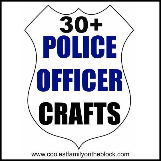 Police Officer Crafts