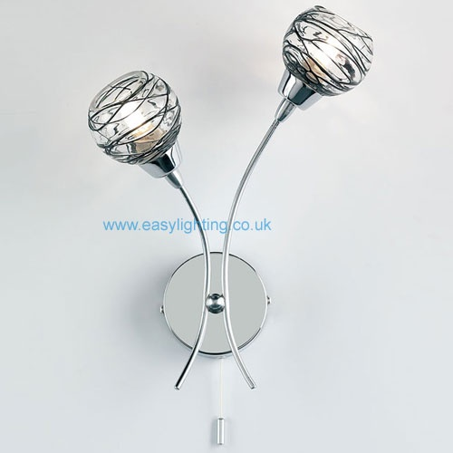 Chrome Picture Wall Lights