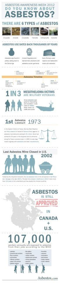 255 best Asbestos images on Pinterest  Interesting stuff, Advertising and Safety