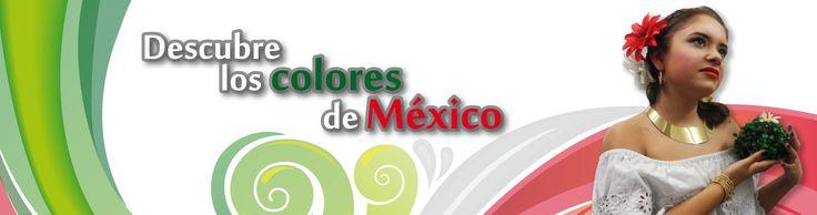 Banner para el mes patrio en México