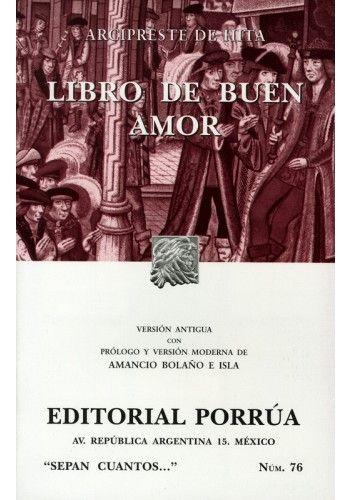 LIBRO DE BUEN AMOR (SC076)