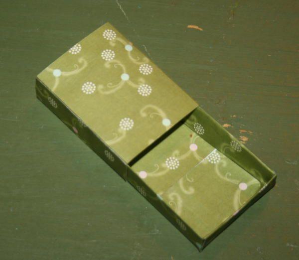 Crafts for kids - matchboxes