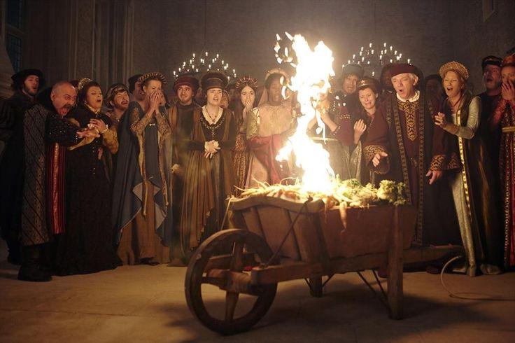 Galavant TV show stills - STANLEY TOWNSEND, GENEVIEVE ALLENBURY