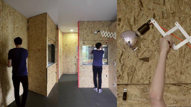 Intervención integral en una vivienda de un edificio residencial madrileño, de mediados del siglo XX para un usuario recién emancipado / 58m2