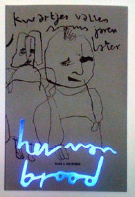 Herman Brood ART - 'Kwartjes vallen soms jaren later'