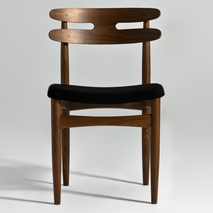 replica hw klein bramin wooden dining chair