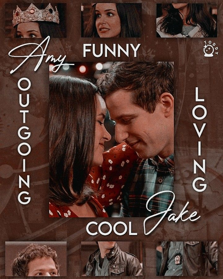 Edit Amy And Jake Amy Santiago Jake Peralta Jake