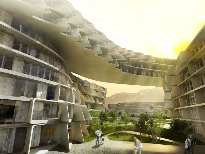 Esfera City Monterrey - Zaha Hadid Architects