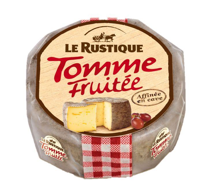 «Том Фруте» Сыр мягкий Ле Рустик «Том Фруте» с плесенью, безлактозный. Для ценителей сыров Том, Реблошон и Сен-Нектер. Обладает тонкой серо-коричневой корочкой и изысканными ореховыми нотами во вкусе с тающей текстурой.