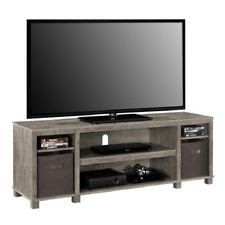 65 Inch TV Stand Entertainment Center Home Theater Media Storage Wood Console