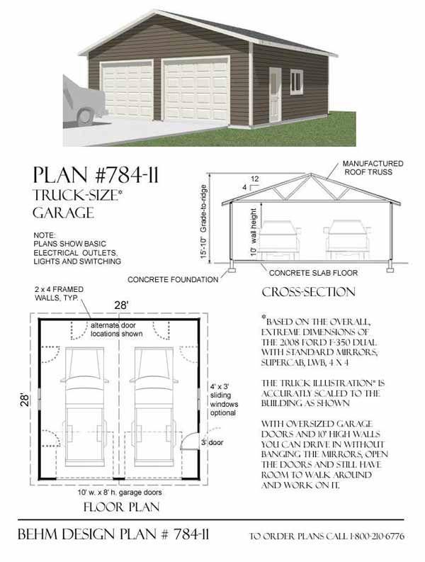 17 images about garage plans by behm design pdf plans for 10 car garage plans