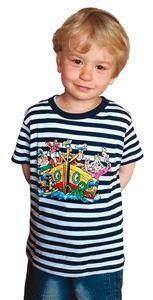 Obrázek pro výrobce a Tričko Čtyřlístek dětské námořnické modré
