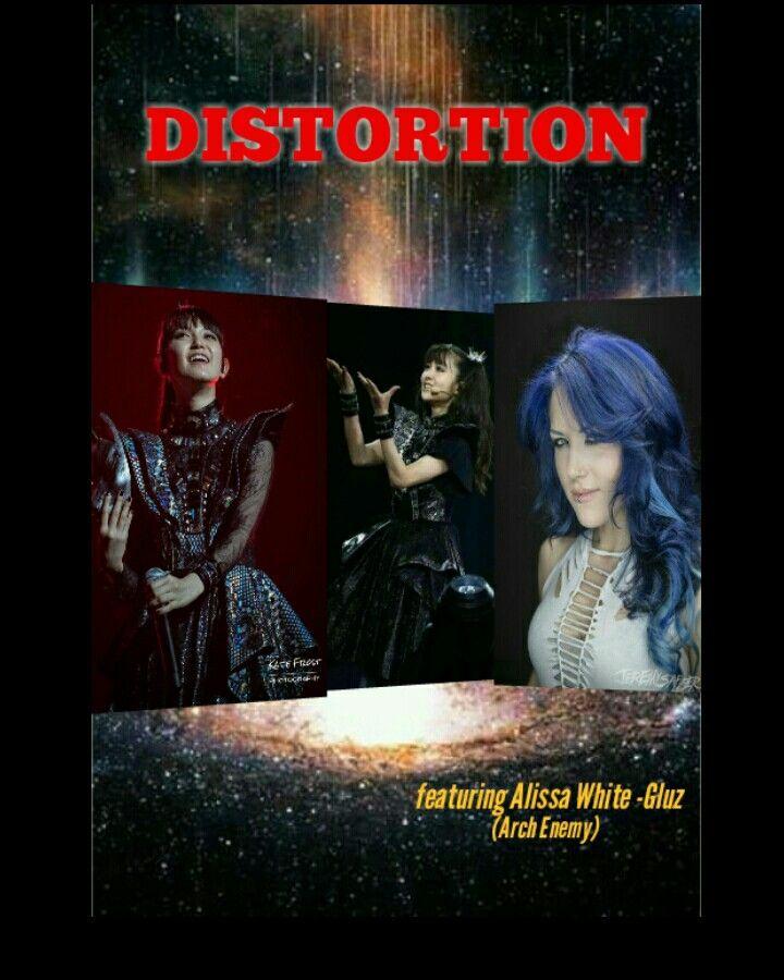 Babymetal Distortion Featuring Alissa White Gluz Arch Enemy