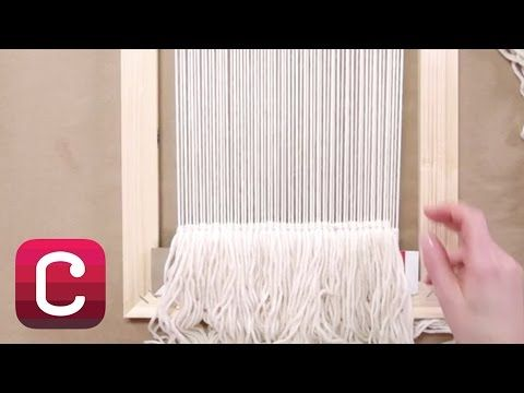 Loom weaving tutorial for beginners: The soumak technique 2 - YouTube