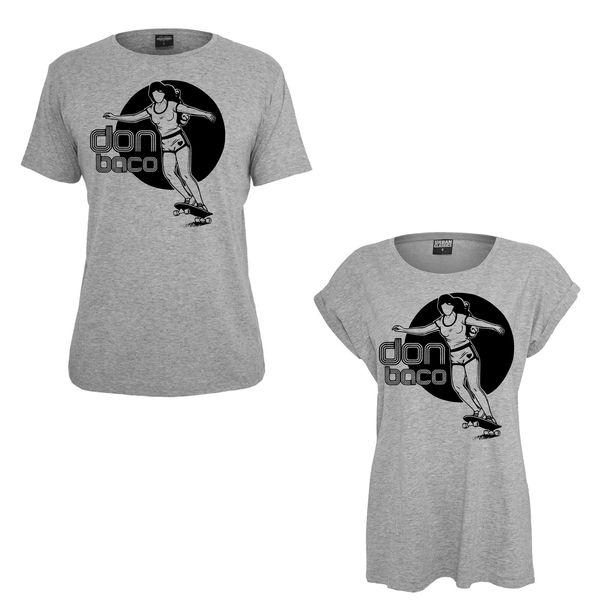 Image of Retro Skate Shirt (women & men)