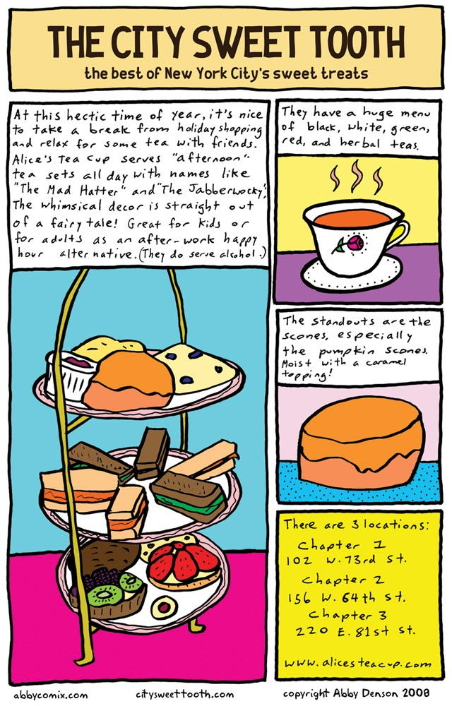 The City Sweet Tooth » City Sweet Tooth Comic – Alice's Tea Cup