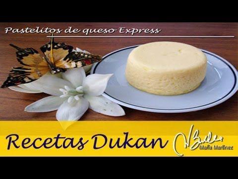 Pastelitos de queso Express Dukan (Crucero) | Recetas Dukan Maria Martinez